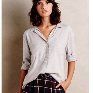 Anthropologie Cloth & Stone Button Up Blouse